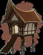 Каджитский амбар (концепт-арт)