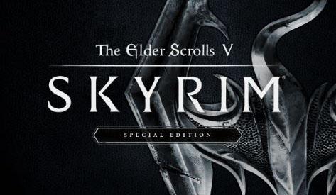 Carátula Skyrim Special Edition