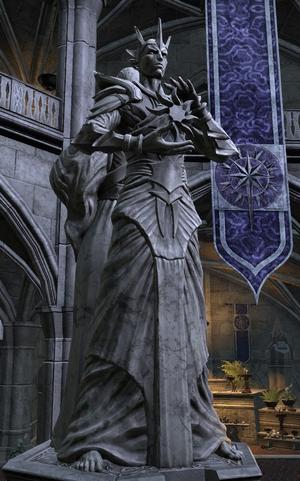 Posąg Auri-Ela (Summerset)