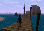 Redguard - Retrieve N'Gasta's Amulet - First Bridge