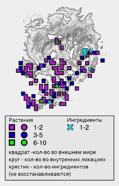 Летифер орка - карта