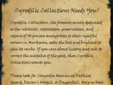 Cyrodilic Collections Needs You!