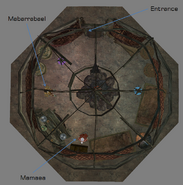 Mamaea Yurt Interior Map