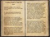 Crafting Motif 2: Dark Elf Style