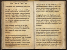 The Tale of Dro-Zira