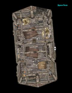 Деревня Лесная - план внутри