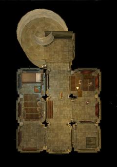 Службы башни. План