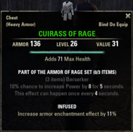 Armor of Rage - Cuirass 26