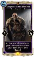 Emperor Titus Mede II DWD