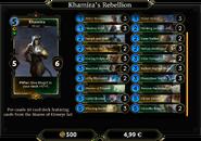 Khamira's Rebellion Deck 2