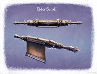 Древний свиток арт