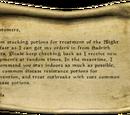 Cure Blight Potion Notice