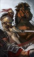 Dragonstar Rider card art