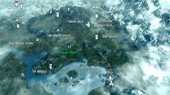 Osennyaya polyana map