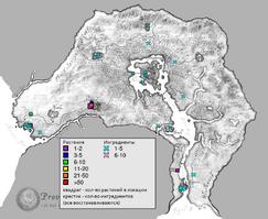 Виноград карта