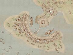 Карта Портового района