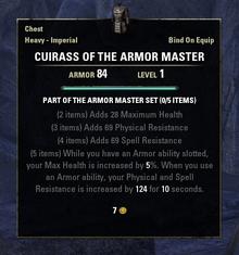 Armor Master