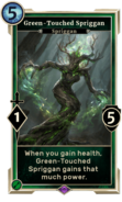 Green-Touched Spriggan DWD