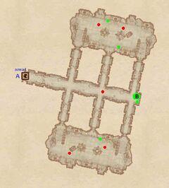 Форт Скиния - Зал легенд. План