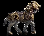 Cavallo corazzato nanico