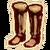 Fur Boots (Oblivion) Icon