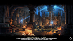 Hall of the Lunar Champion Loading Screen