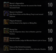 Morrowind Quest Achievements - 2