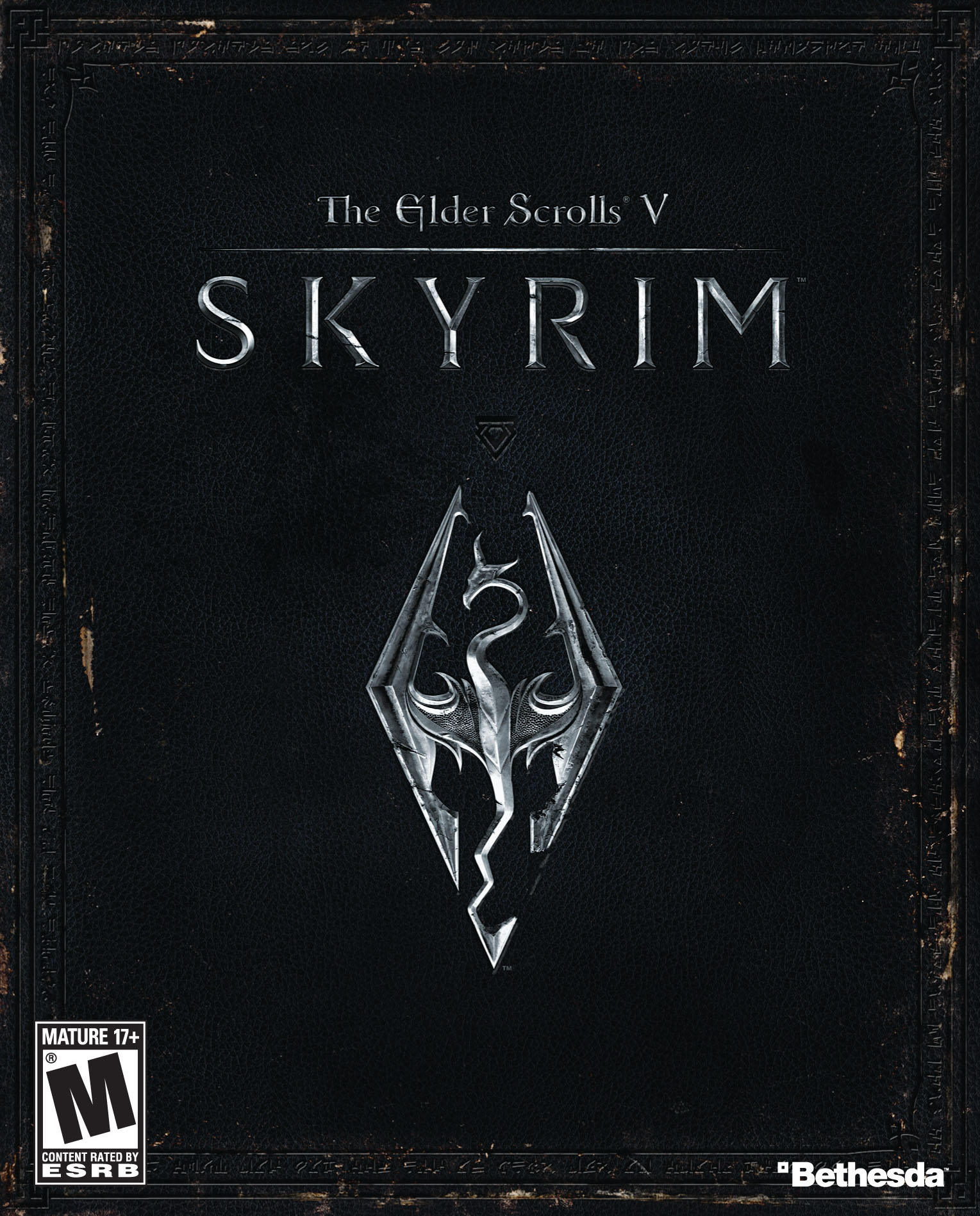 Image result for Skyrim cover pc
