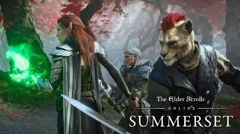 The Elder Scrolls Online Summerset - oficjalny zwiastun fabularny