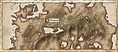 Милькар. Карта