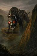 Death Hound card art