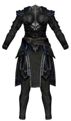 Ebony Mail (Skyrim) Female