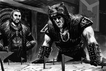 Skyrim ulfric and galmar by jedi art trick-d5al0ke