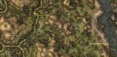 Лагерь Якаридан. Карта