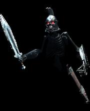 Порченая тень-имперец-мечник в режиме атаки
