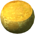 Goat cheese wheel