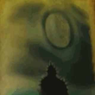 Numidium w wodach zatoki Iliac z gry The Elder Scrolls II: Daggerfall