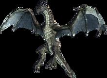 Коричневый дракон (в полёте)