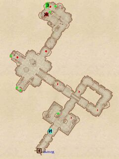 Форт Колдкорн. План