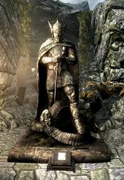 Acilius Bolar Talos Statue