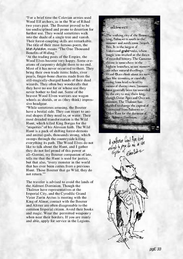 Pocket Guide to the Empire, First Edition – Aldmeri Dominion 5