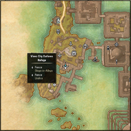Vivec City Outlaws Refuge Map