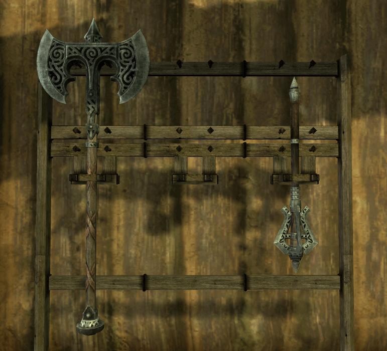Weapon Rack Elder Scrolls Fandom Powered By Wikia