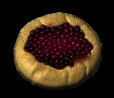 Снежноягодный пирог