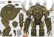 Dwarven Colossus Concept Art (3)