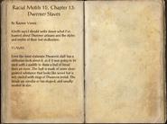 Racial Motifs 15, Chapter 13 Dwemer Staves