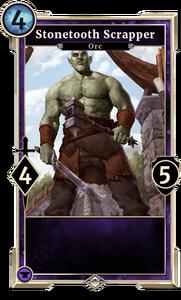 Stonetooth Scrapper (Legends)