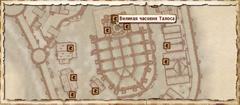 Великая часовня Талоса. Карта