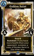 Golden Saint (Legends) DWD