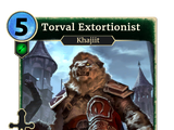 Torval Extortionist